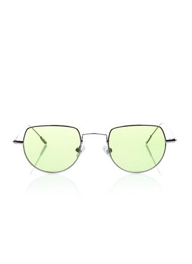 Optoline Opc 17051 03 Oval   Gövde Polarize Cam Kadın Güneş Gözlüğü Yeşil